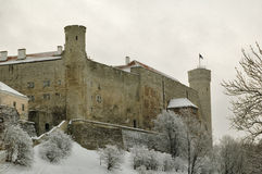 Fortress Toompea in Tallinn Stock Photography