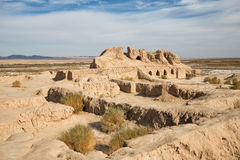 Free Fortress Toprak-Kala Of Ancient Khorezm Stock Photos - 84490963