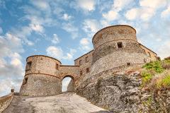 Fortress of Torriana, Rimini, Italy Royalty Free Stock Images