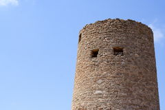 Fortress Tower. Old historical fortress tower Stock Images