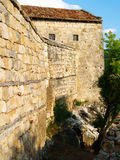 Fortress tower. Royalty Free Stock Photography