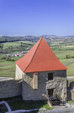 Fortress Tower, Citadel of Rupea stock photo