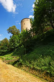 Fortress tower Prague Castle Royalty Free Stock Image