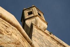 Fortress tower - Valetta, Malta Stock Photography