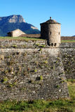 Fortress in town Jacca. In Northern Spain Royalty Free Stock Photo