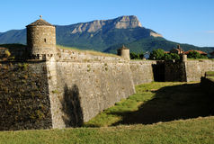 Fortress in town Jacca. In Northern Spain Royalty Free Stock Photography