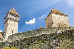 Fortress in Transylvania, Romania Royalty Free Stock Photo