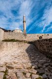 The fortress in Travnik royalty free stock photo