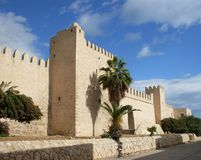 Fortress in Tunisia, Suss royalty free stock image