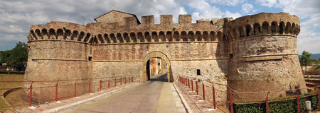 Fortress in tuscany italy Royalty Free Stock Photos