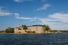 Fortress of Vaxholm Stock Image