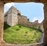 Fortress view from a tower window Royalty Free Stock Image