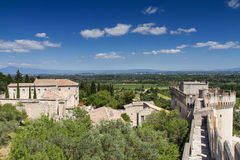 Fortress of Villeneuve-les-Avignon Stock Images