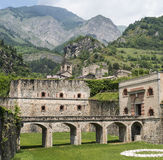 Fortress of Vinadio (Piedmont, Italy) Stock Images