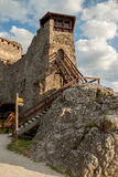 Fortress in Visegrad, Hungary Royalty Free Stock Photos