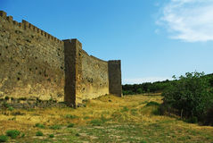 Fortress wall Royalty Free Stock Photos