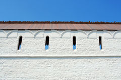 Fortress Wall Royalty Free Stock Photography