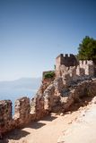 Fortress wall in Alanya Royalty Free Stock Photos