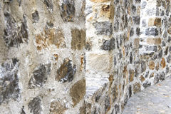 Fortress wall backaground Royalty Free Stock Photography