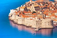 Fortress and wall of Dubrovnik Stock Photography