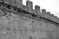 Fortress Wall Stock Image