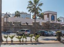 Fortress wall. Old Medina. Stock Image