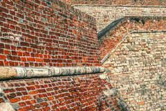 Fortress Wall 3 Royalty Free Stock Images
