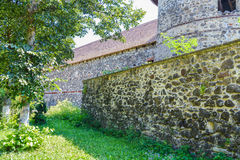 Fortress wall. Racos, Romania Royalty Free Stock Photos