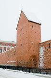 Fortress wall in Riga Stock Image