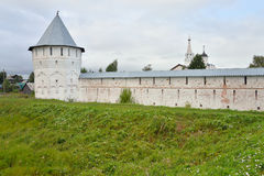 Fortress wall of Saviour Priluki Monastery. Stock Photography