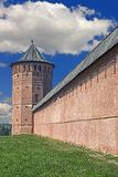 Fortress wall and tower 1 royalty free stock images