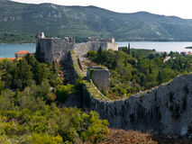 Fortress and walls Royalty Free Stock Photo