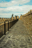 Fortress walls royalty free stock photography