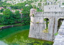 The fortress walls Stock Photography