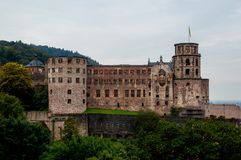 Fortress walls, outside view stock image