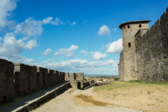 Fortress walls Stock Images