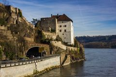 Fortress that was founded in 1219, Passau, Germany Royalty Free Stock Image