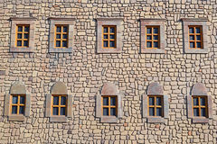Fortress Windows Royalty Free Stock Image