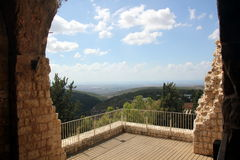 Fortress Yehiam Royalty Free Stock Photos