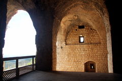 Fortress Yehiam Stock Image
