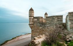 The fortress of Yeni-Kale, Russia, the Crimea, the city of Kerch.  Royalty Free Stock Photo