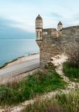 The fortress of Yeni-Kale, Russia, the Crimea, the city of Kerch.  Stock Photos