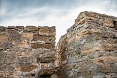 The fortress of Yeni-Kale, Russia, the Crimea, the city of Kerch.  Royalty Free Stock Photography