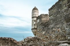 The fortress of Yeni-Kale, Russia, the Crimea, the city of Kerch.  Royalty Free Stock Photos