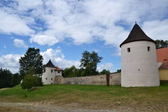 The fortress Zumberk in South Bohemia Stock Photo