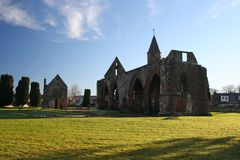 Fortrose Cathedral, Fortrose, Scotland Stock Photography