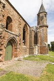 Fortrose Cathedral ruins on the Black Isle in Scotland. Fortrose Cathedral ruins on the Black Isle in Ross & Cromarty, Scotland Stock Photography