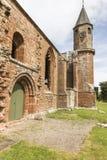 Fortrose katedry ruiny na Czarnej wyspie w Szkocja Fotografia Stock