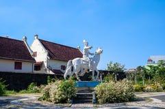 FortRotterdam museum i den Makassar staden, Sulawesi arkivbilder