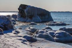 Forts brisés en hiver Photo stock